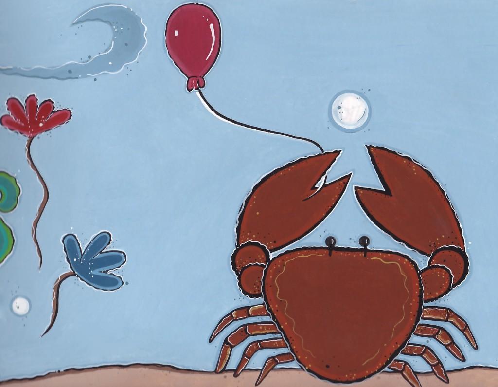 crabwithballoon