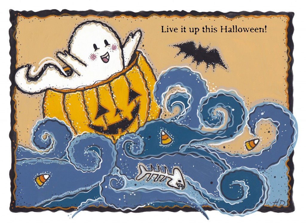 Live It Up This Halloween!