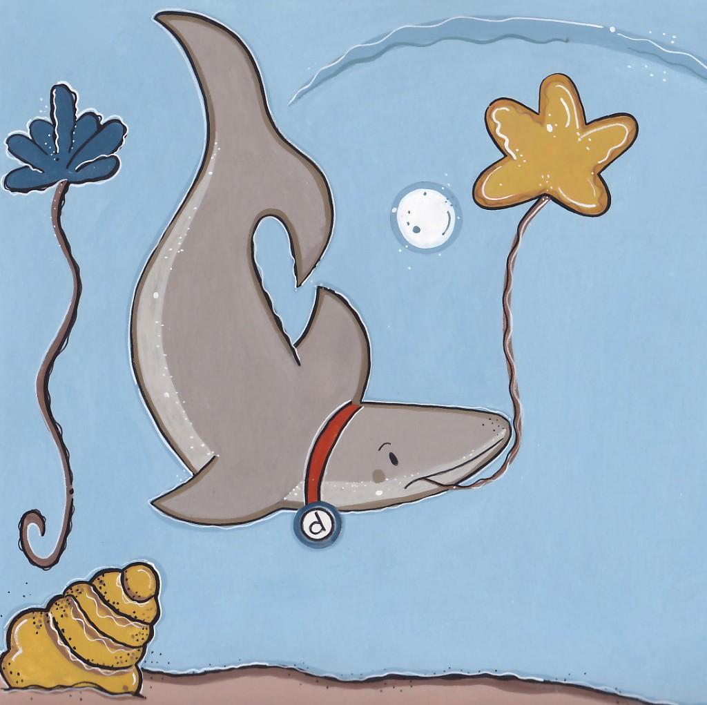 sharkwithballoon