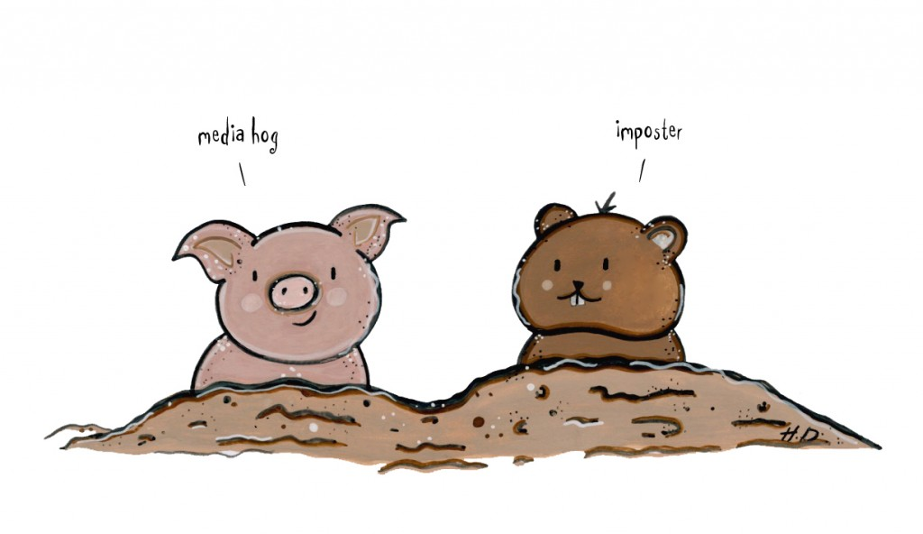 Goundhogs!